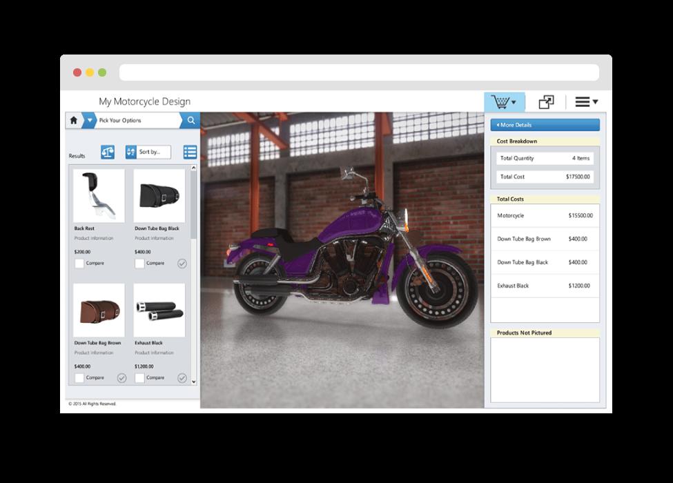 Discern CX - 3D Visual Product Configurators